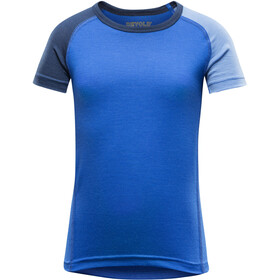 Devold Breeze T-Shirt Kids Royal